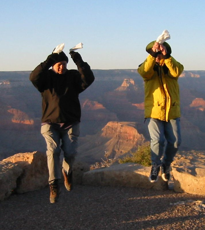 Colemen at the Grand Canyon